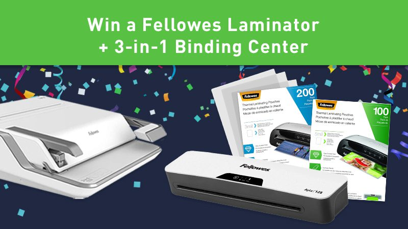 The Organized Classroom giveaway from Fellowes