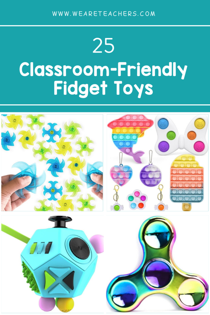 25 Classroom-Friendly Fidget Toys and Devices To Help Students Focus