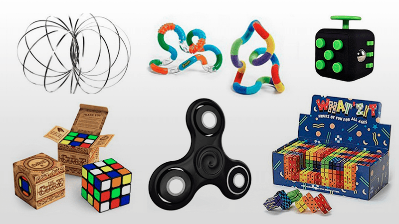 15and Up Toys For Everyone : Fidget toys devices to will make any classroom calmer
