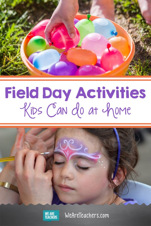 Field Day Activities Kids Can Do at Home