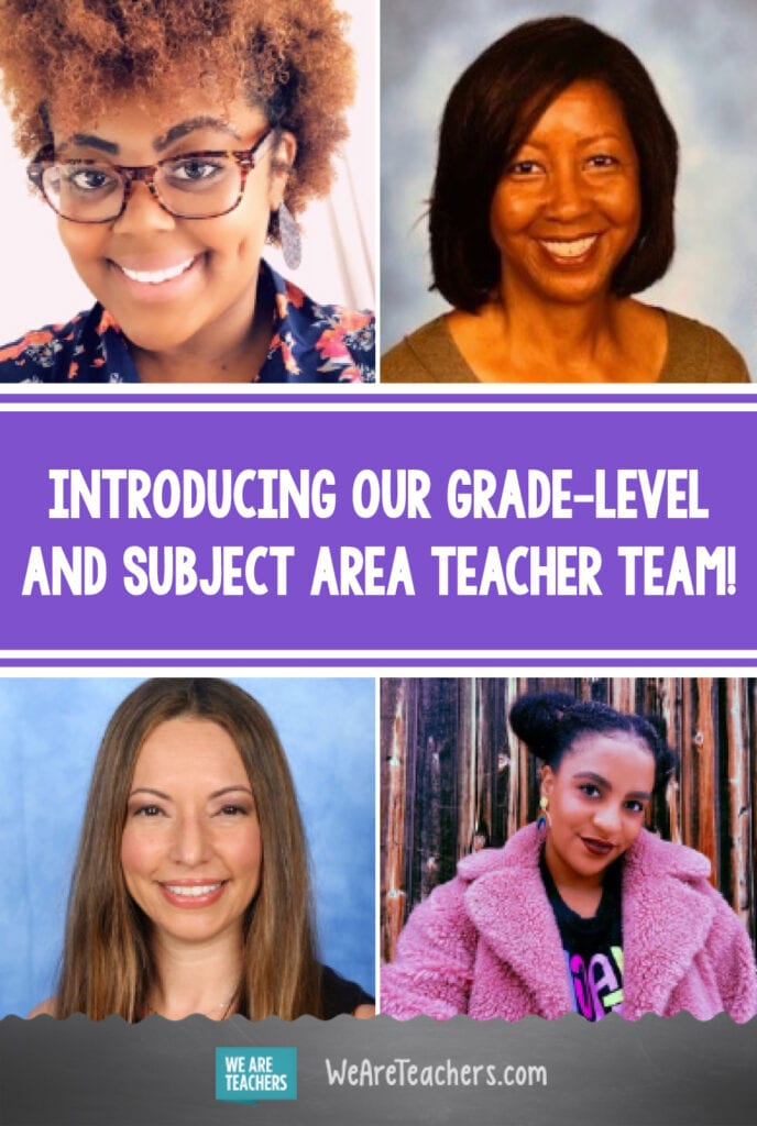 Introducing Our Grade-Level and Subject Area Teacher Team!