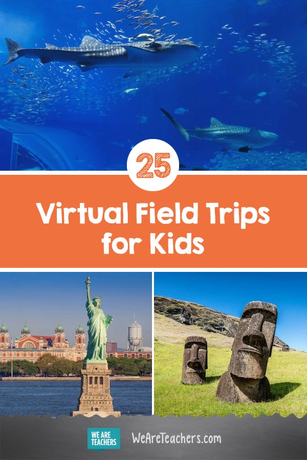 25 Amazing Virtual Field Trips for Kids—Spring 2020