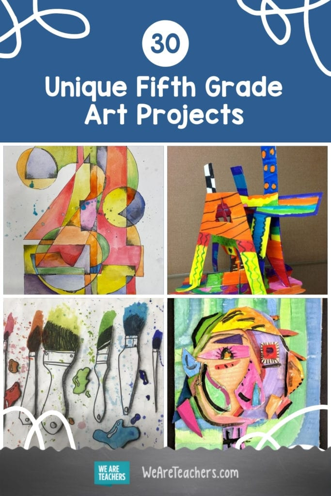 30 Unique Fifth Grade Art Projects To Tap Into Kids' Creativity