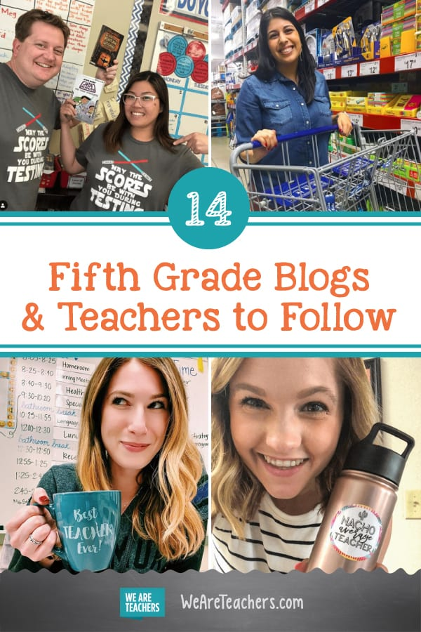 14 Fabulous Fifth Grade Blogs and Teachers to Follow