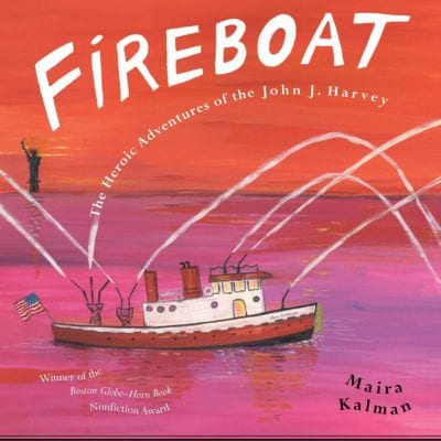 Fireboat book cover