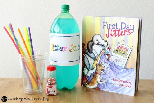First Day Jitters Activities The Kindergarten Connection