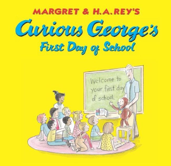 First Day of School Traditions Curious George