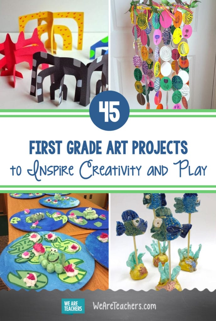 45 Amazing First Grade Art Projects to Inspire Creativity and Play
