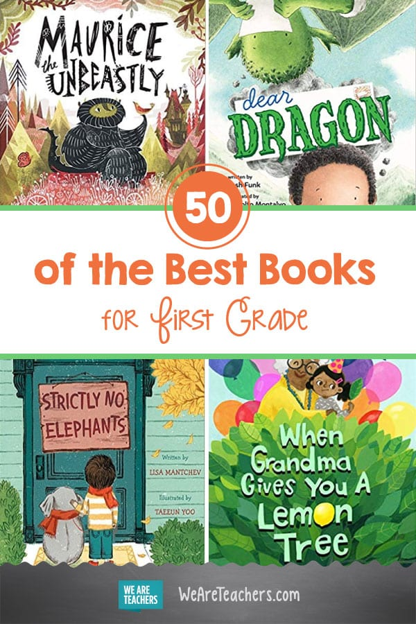 50 of the Best Books for First Grade