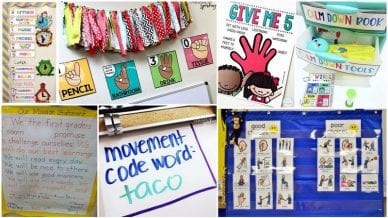 First Grade Classroom Management