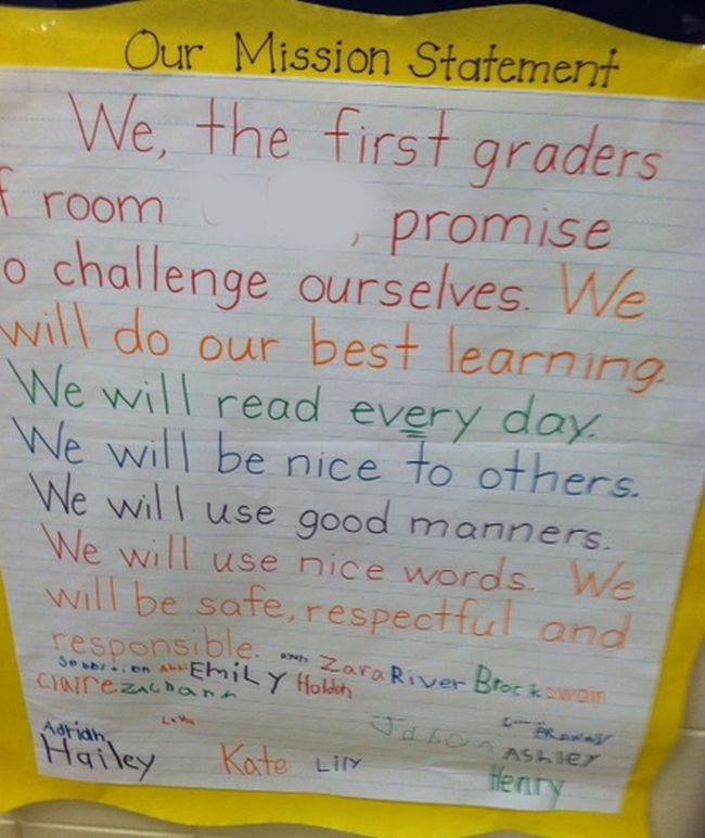 First Grade Classroom Management
