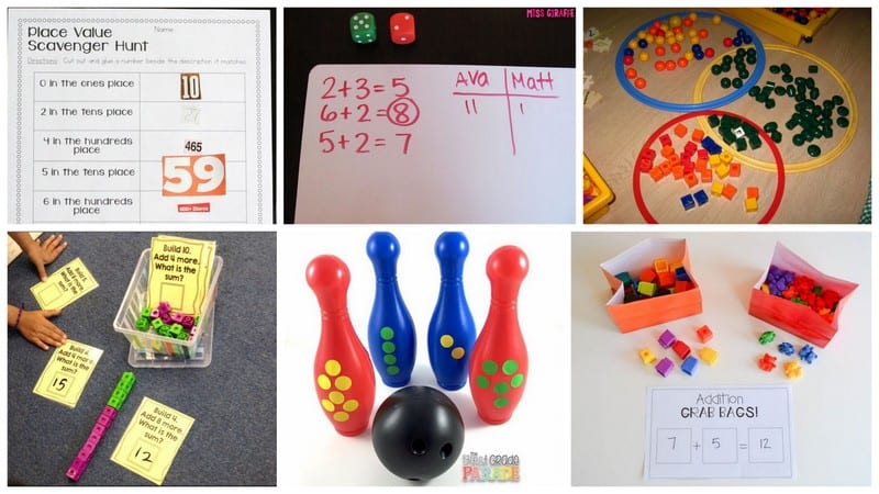 16 Fun And Free First Grade Math Games And Activities - We Are Teachers