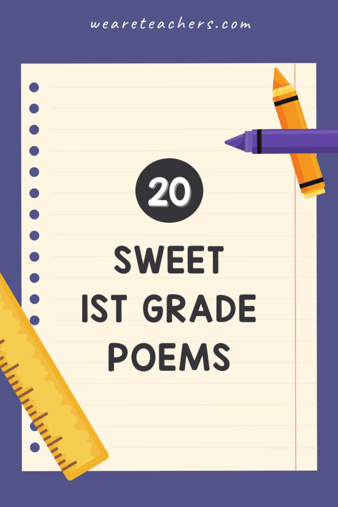 20 Sweet and Fun 1st Grade Poems for Kids