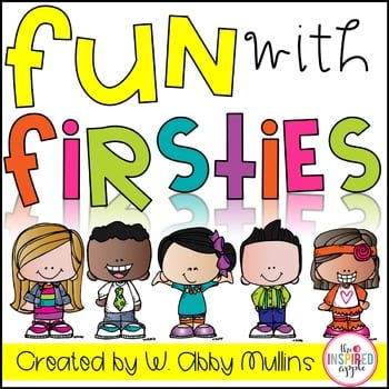 Fun with Firsties Book