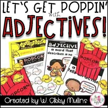 Lets Get Poppin Adjectives Book
