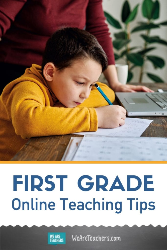Your Guide to Teaching 1st Grade Online