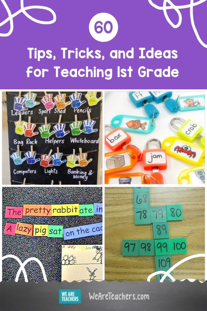 60 Tips, Tricks, and Ideas for Teaching 1st Grade
