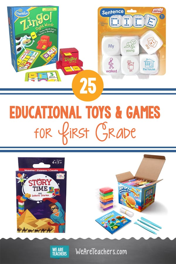 25 Best Educational Toys and Games for First Grade