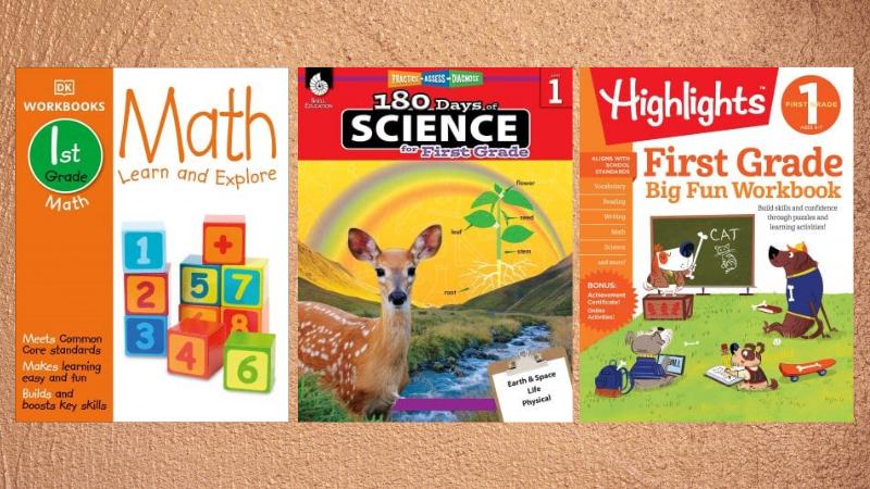 First Grade Workbooks