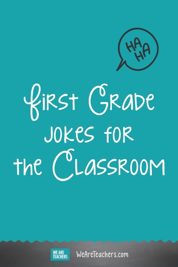 25 Silly First Grade Jokes to Start The Day