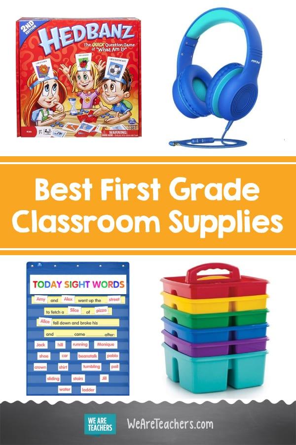 Best First Grade Classroom Supplies