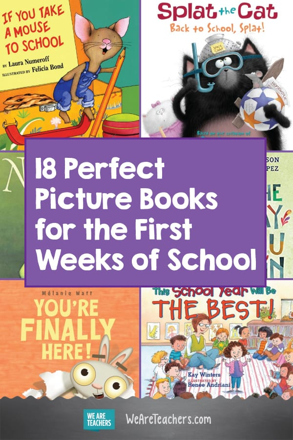 18 Perfect Picture Books for the First Weeks of School