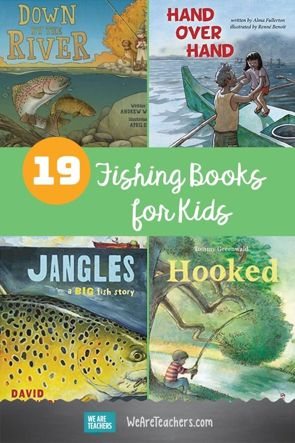 Reel Them in: 19 Fishing Books for Kids