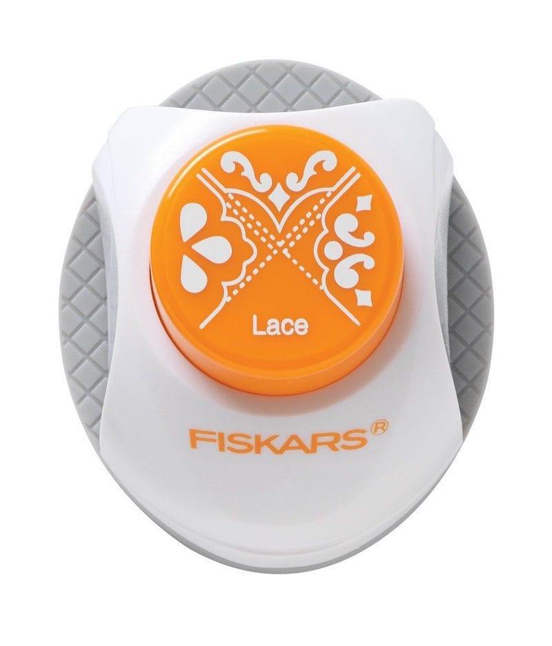 Fisker's Lace 3-in-1 Corner Punch - Art Supplies Under $10