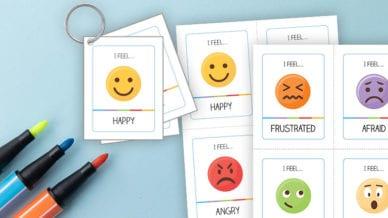 Printable SEL Strategies about Emoji Emotions.