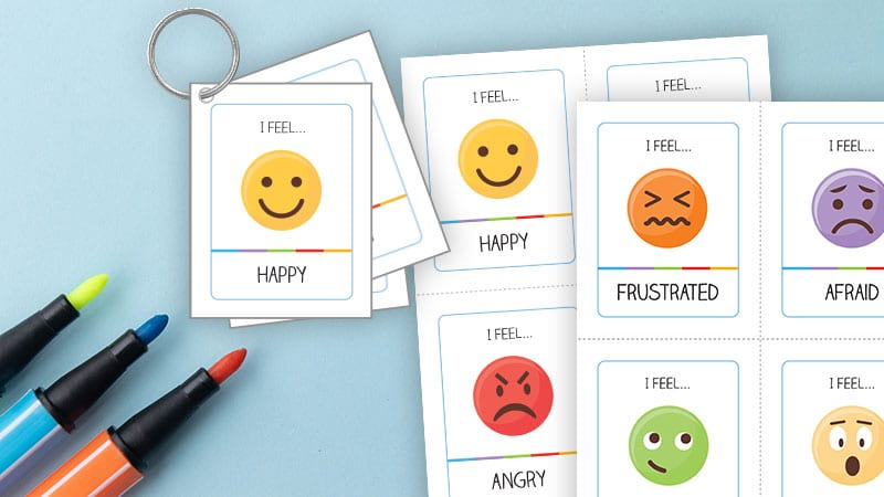 Printable SEL Strategies about Emoji Emotions.