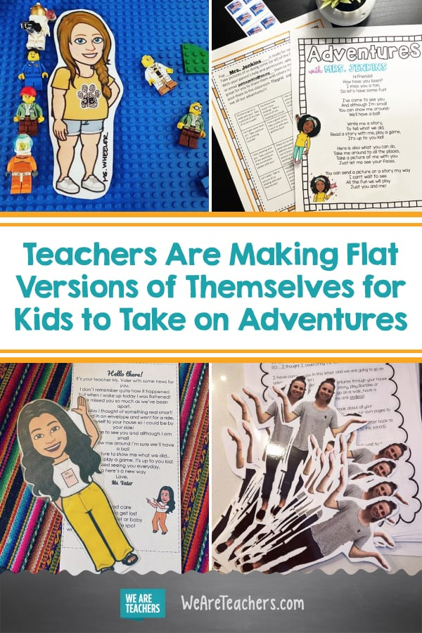 Teachers Are Making Flat Versions of Themselves for Kids to Take on Adventures