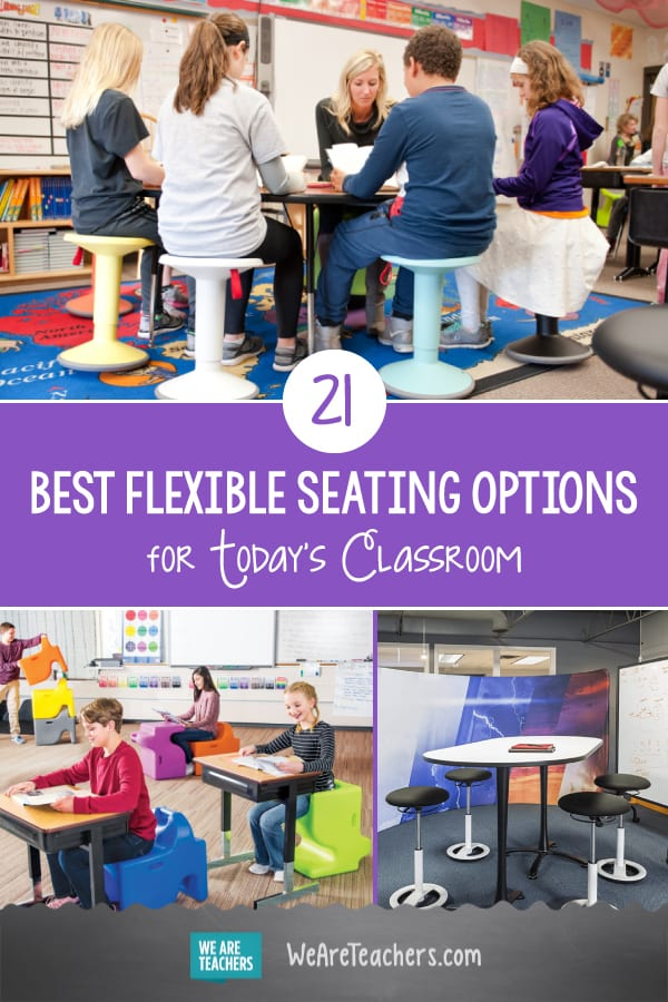 21 of the Best Flexible Seating Options for Today's Classroom