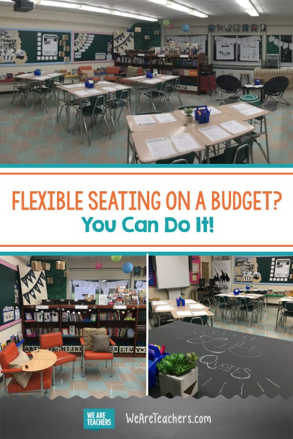 Flexible Seating on a Budget? You Can Do It!