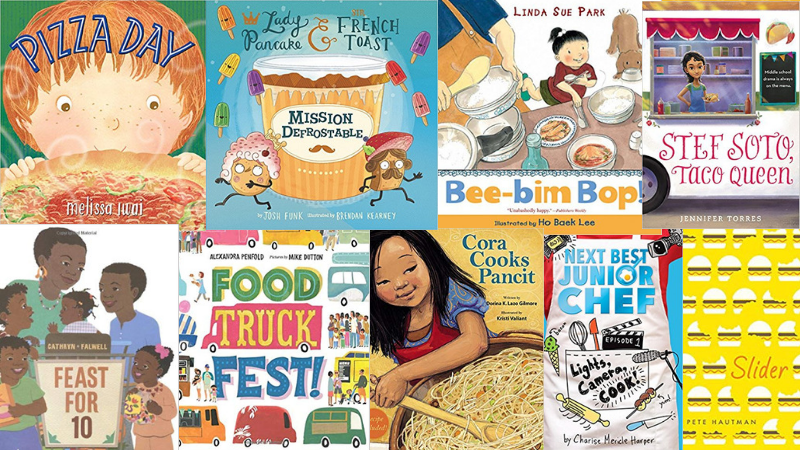 31 Delicious Food Books for Kids