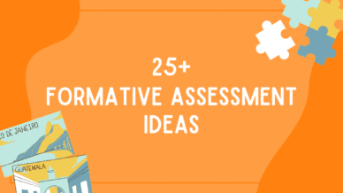 25+ Formative assessment ideas for the classroom.