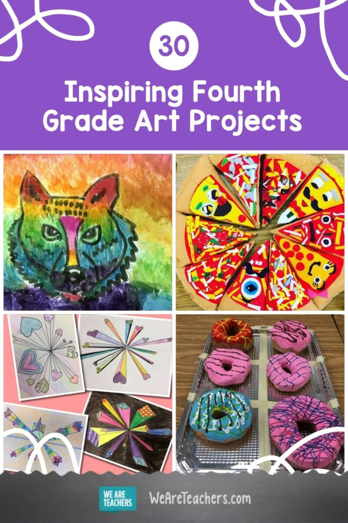 30 Inspiring Fourth Grade Art Projects For Creative Kids