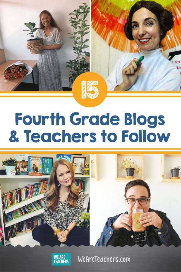 15 Super Fourth Grade Blogs and Teachers to Follow