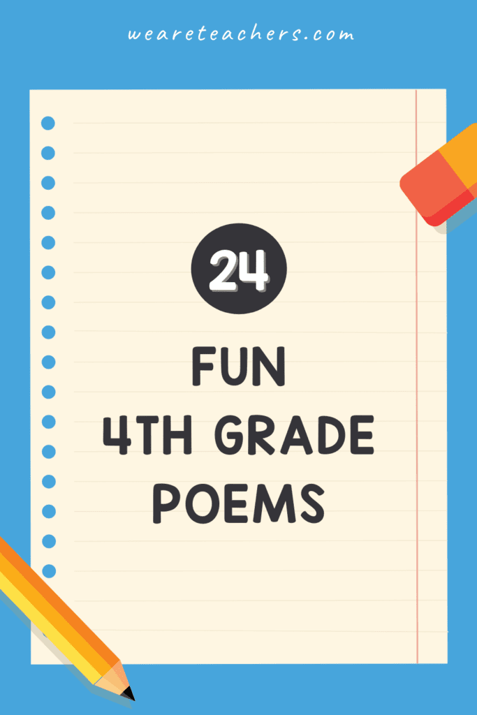 24 Favorite 4th Grade Poems Your Students Will Love