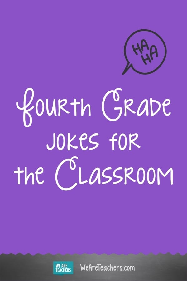26 Great Fourth Grade Jokes to Start The Day