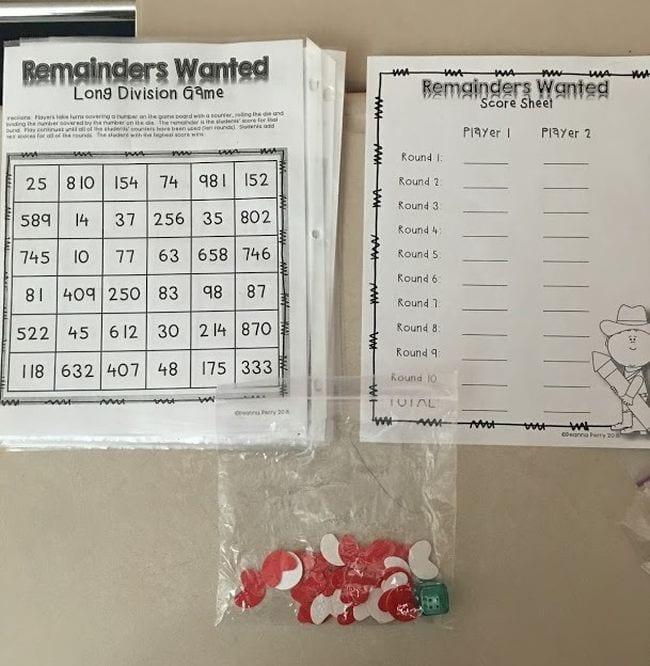 Fourth Grade Math Games
