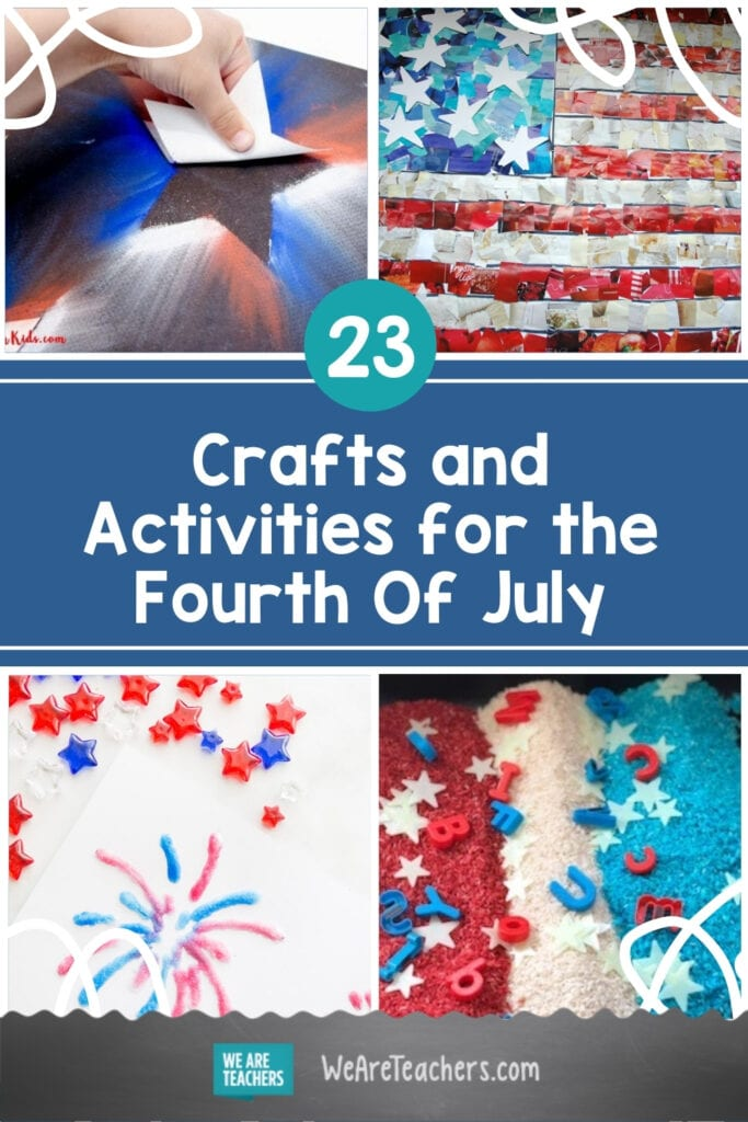23 Crafts and Activities for the Fourth Of July