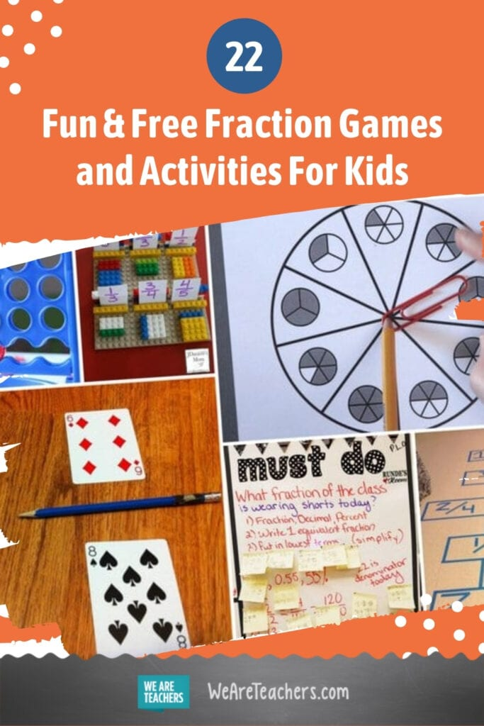 22 Fun and Free Fraction Games and Activities For Kids