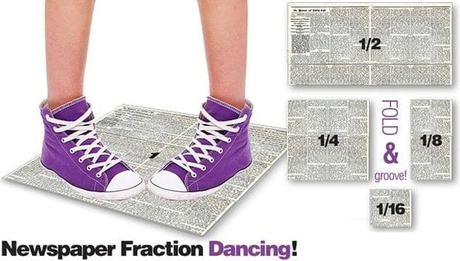 Fraction Games Newspaper Mrs Kings Music Class