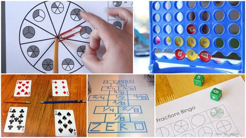 photograph about Printable Fraction Games known as 17 Exciting and No cost Portion Video games For Youngsters - WeAreTeachers