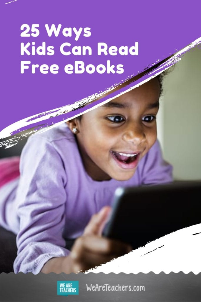 25 Ways Kids Can Read Free eBooks