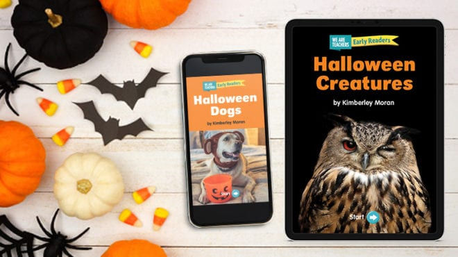 3 Free Halloween Early Readers