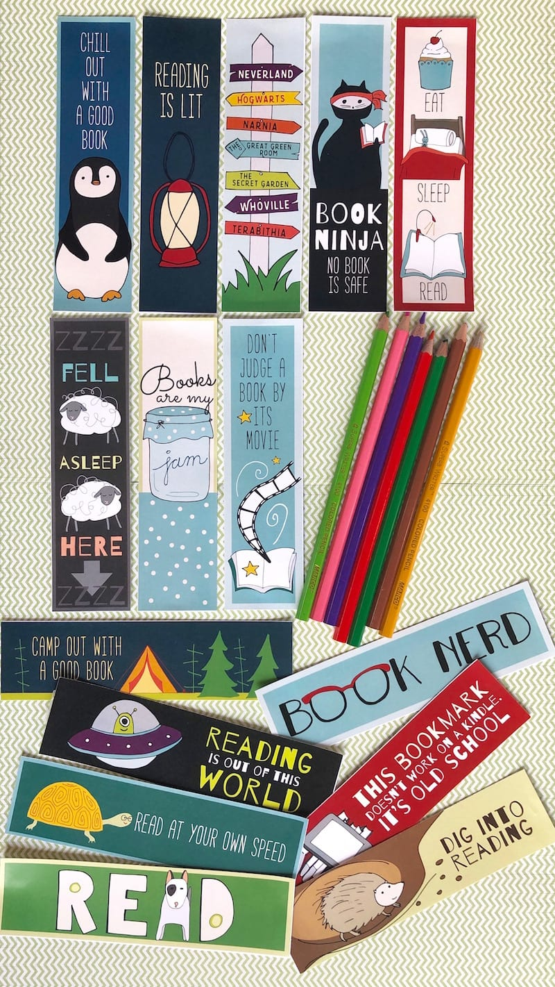 graphic regarding Free Printable Bookmarks With Quotes named Absolutely free Printable Bookmarks for Children - WeAreTeachers