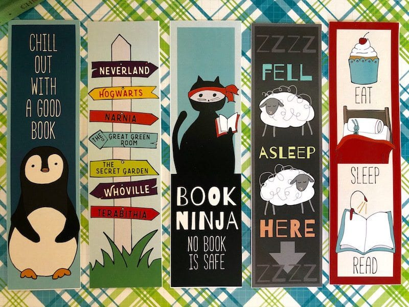 free printable bookmarks for kids weareteachers