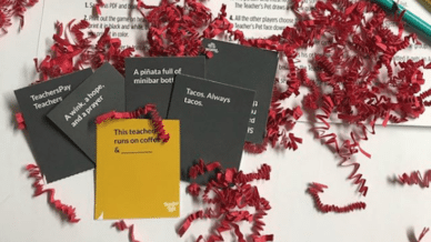 Free Teacher Life Card Game Is Like Cards Against Humanity for Teachers