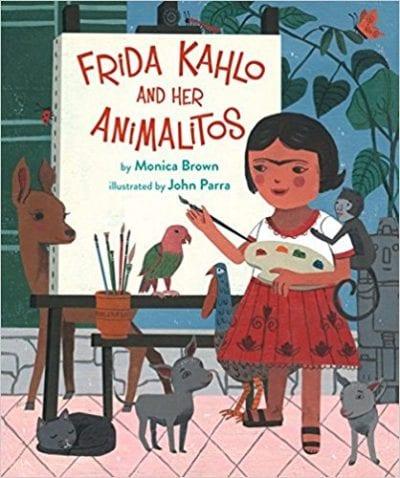 Frida Kahlo and her Animalitos book cover